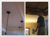 Before & After Photos, Tray Ceilings, Italian Finishes, Mark Nordgren, Bella Faux Finishes, Sioux Falls, SD
