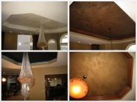 Before & After Photos, Tray Ceilings, Italian Finishes, Faux Finishes, Bella Faux Finishes, Sioux Falls, SD