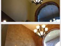 Before & After Photos, Entryway Walls, Italian Venetian Plaster, Venetian Plaster, Bella Faux Finishes, Sioux Falls, SD