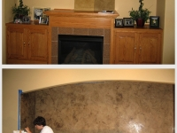 Before & After Photos, Niches, Italian Finishes, David Nordgren, Bella Faux Finishes, Sioux Falls, SD