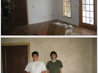 Before & After Photos, Bedroom Walls, Italian Finishes, David Nordgren, Michael Nordgren, Bella Faux Finishes, Sioux Falls, SD