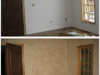 Before & After Photos, Bedroom Walls, Italian Finishes, Bella Faux Finishes, Sioux Falls, SD