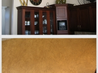 Before & After Photos, Kitchen Walls, Italian Finishes, Bella Faux Finishes, Sioux Falls, SD