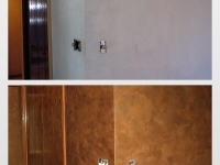 Before & After Photos, Kitchen Walls, Italian Finishes, Faux Finishes, Bella Faux Finishes, Sioux Falls, SD