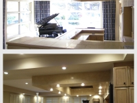 Before & After Photos, Drop Down Ceiling, Italian Venetian Plaster, Venetian Plaster,  Bella Faux Finishes, Sioux Falls, SD