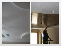 Before & After Photos, Tray Ceilings, Italian Venetian Plaster, Venetian Plaster, David Nordgren, Bella Faux Finishes, Sioux Falls, SD