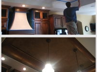 Before & After Photos, Tray Ceilings, Italian Finishes, David Nordgren, Bella Faux Finishes, Sioux Falls, SD