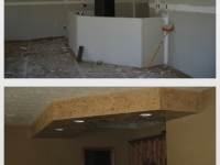 Before & After Photos, Bar, Drop Down Ceiling, Italian Finishes, Bella Faux Finishes, Sioux Falls, SD