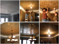 Before & After Photos, Tray Ceilings, Italian Venetian Plaster, Venetian Plaster, Bella Faux Finishes, Sioux Falls, SD