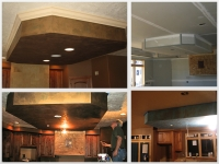 Before & After Photos, Drop Down Ceiling, Italian Finishes, Faux Finishes, Bella Faux Finishes, Sioux Falls, SD