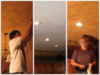 Before & After Photos, Tray Ceilings, Italian Venetian Plaster, Venetian Plaster, David Nordgren, Mark Nordgren,  Bella Faux Finishes, Sioux Falls, SD