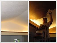 Before & After Photos, Vaulted Ceiling, Italian Finishes, David Nordgren, Bella Faux Finishes, Sioux Falls, SD