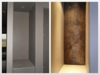 Before & After Photos, Niches, Italian Finishes, Bella Faux Finishes, Sioux Falls, SD