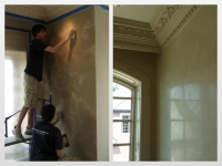 Before & After Photos, Walls, Italian Venetian Plaster, Venetian Plaster, Bella Faux Finishes, Sioux Falls, SD