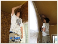 Before & After Photos, Interior Painting, Italian Finishes, David Nordgren, Michael Nordgren, Bella Faux Finishes, Sioux Falls, SD