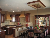 Tray Ceiling, Range Hoods, Italian Finishes, Bella Faux Finishes, Sioux Falls, SD