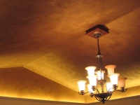 Vaulted Ceiling, Italian Finishes, Bella Faux Finishes, Sioux Falls, SD