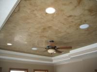 Tray Ceiling, Italian Venetian Plaster, Venetian Plaster, Bella Faux Finishes, Sioux Falls, SD