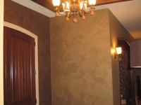Entryway Ceiling, Italian Finishes, Faux Finishes,  Bella Faux Finishes, Sioux Falls, SD