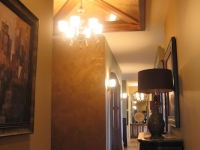 Entryway Ceiling, Italian Finishes, Bella Faux Finishes, Sioux Falls, SD