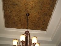 Tray Ceiling, Italian Finishes, Bella Faux Finishes, Sioux Falls, SD