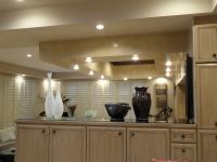 Bar Drop Down Ceiling, Italian Venetian Plaster, Venetian Plaster, Bella Faux Finishes, Sioux Falls, SD