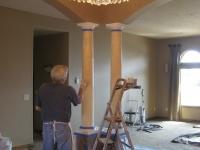 Columns, Italian Venetian Plaster, Venetian Plaster, Mark Nordgren, Bella Faux Finishes, Sioux Falls, SD
