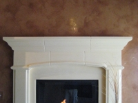 Fireplace, Italian Venetian Plaster, Venetian Plaster, Bella Faux Finishes, Sioux Falls, SD