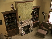 Fireplace, Italian Finishes, Bella Faux Finishes, Sioux Falls, SD