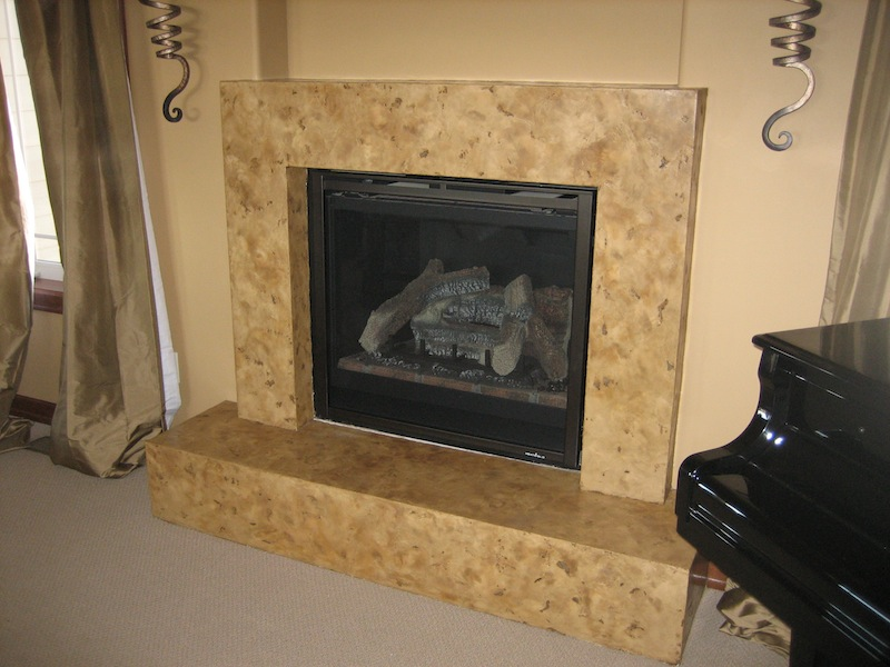 Fireplaces Bella Faux Finishes