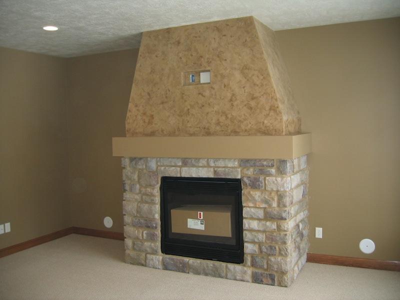 Faux fireplace finishes - Fireplace finish ideas ...