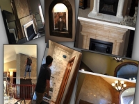 """Wallpaper, Fireplaces, Niches & Entryways"""
