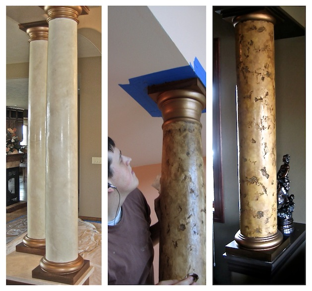 Faux Painted Columns Part - 50: Bella Faux Finishes: Sioux Falls, SD, Faux Finishes, Faux Painting ...