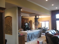 Tray Ceiling, Niche, Italian Venetian Plaster, Venetian Plaster, Italian Finishes, David Nordgren, Bella Faux Finishes, Sioux Falls, SD