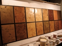 Sample Boards, Italian Finishes, Bella Faux Finishes, Sioux Falls, SD