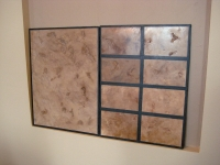 Sample Boards, Italian Finishes, Niche, Bella Faux Finishes, Sioux Falls, SD