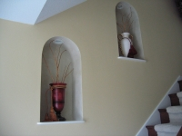 Niche, Italian Venetian Plaster, Venetian Plaster, Bella Faux Finishes, Sioux Falls, SD