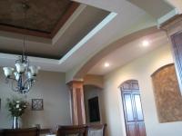 Tray Ceiling, Niche, Italian Venetian Plaster, Venetian Plaster, Italian Finishes, Bella Faux Finishes, Sioux Falls, SD