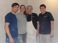 Bella Faux Finishes, Italian Venetian Plaster Project,  James Kirkpatrick, Shayna Kirkpatrick, Mark Nordgren, David Nordgren