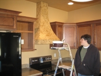 Kitchen Range Hood, Italian Finishes, David Nordgren, Bella Faux Finishes, Sioux Falls, SD