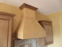 Kitchen Range Hood, Faux Finishes, Bella Faux Finishes, Sioux Falls, SD