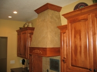 Kitchen Range Hood, Italian Finishes, Bella Faux Finishes, Sioux Falls, SD