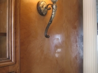 Dining Room Wall, Italian Venetian Plaster, Venetian Plaster, Bella Faux Finishes, Sioux Falls, SD