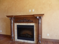 Living Room Wall, Faux Finishes, Bella Faux Finishes, Sioux Falls, SD