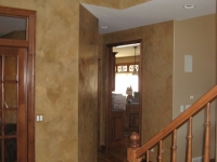 Entryway Walls, Italian Venetian Plaster, Venetian Plaster, Bella Faux Finishes, Sioux Falls, SD