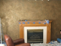 Family Room Accent Wall, Italian Finishes, Faux Finishes, Bella Faux Finishes, Sioux Falls, SD