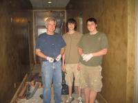 Commercial Hallway, Italian Venetian Plaster, Venetian Plaster, Mark, Michael & David Nordgren, Bella Faux Finishes, Sioux Falls, SD