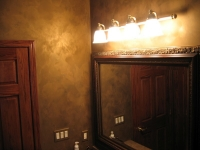 Bathroom Walls, Italian Finishes, Faux Finishes, Bella Faux Finishes, Sioux Falls, SD