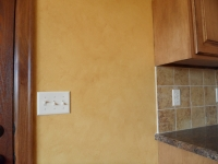 Kitchen Wall, Faux Finishes, Bella Faux Finishes, Sioux Falls, SD