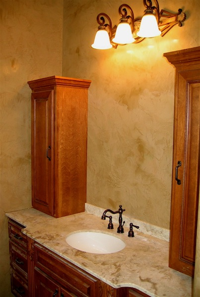 Bathroom Walls Italian Venetian Plaster Bella Faux Finishes Sioux Falls